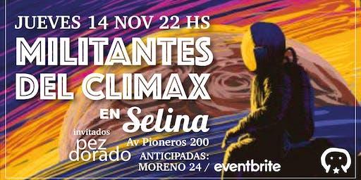Militantes del Climax en Bariloche