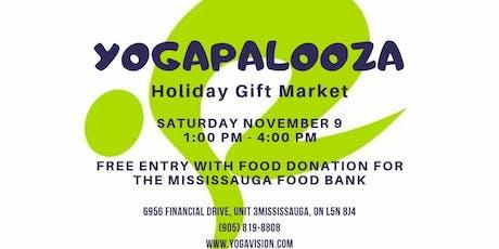 YogaPaloooza - Holiday Gift Market tickets