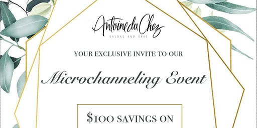 Skin Microchanneling Event | $100 OFF