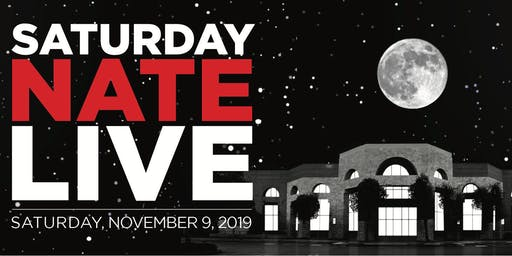 SATURDAY NATE LIVE! - APJCC Annual Fundraising Event & Comedy Night