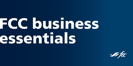 FCC Business Essentials - Chatham tickets