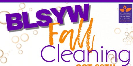 BLSYW Fall Cleaning tickets