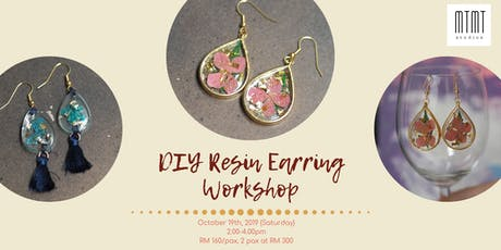 DIY Resin Earring Workshop tickets