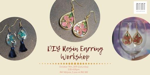 DIY Resin Earring Workshop