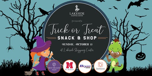 Halloween 2019 :: Snack and Shop at Lakeside Shopping Center