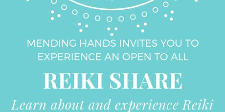 Reiki Share  tickets