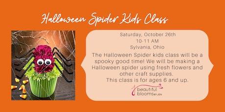 Kid's Class - Halloween Spider tickets