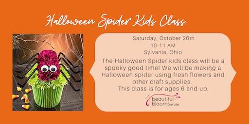 Kid's Class - Halloween Spider