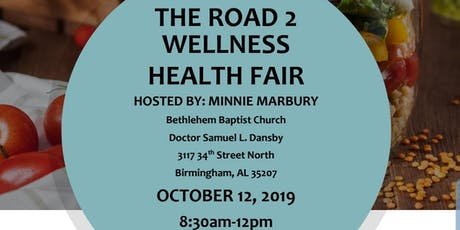 The Road 2 Wellness Health Fair  tickets