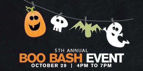 5th Annual Boo Bash Event tickets