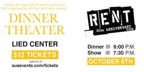 Dinner Theater : Rent tickets