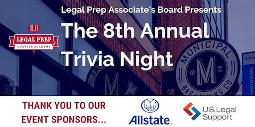 8th Annual Legal Prep Associate Board Trivia Night
