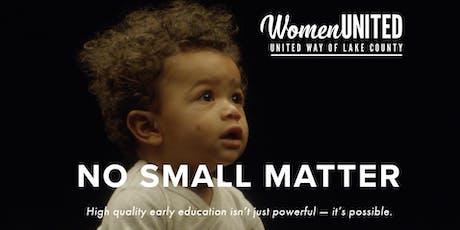 No Small Matter Documentary -- Lake County Screening tickets