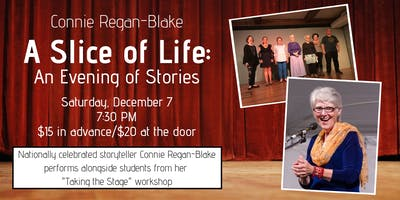 Slice of Life: An Evening of Stories with Connie Regan-Blake