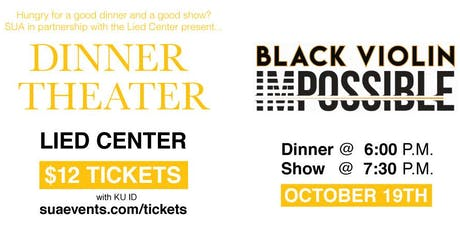Dinner Theater : Black Violin tickets