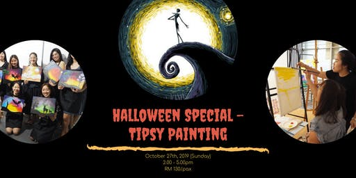 TIPSY PAINTING - Halloween Special