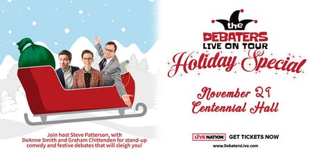 THE DEBATERS LIVE ON TOUR HOLIDAY SPECIAL tickets