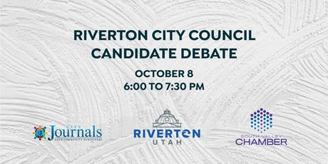Riverton City Council Candidate Debate tickets