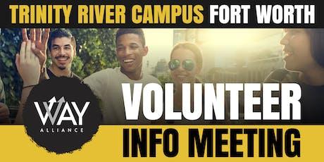 WAY Alliance New Volunteer Information Meeting (Fort Worth) tickets