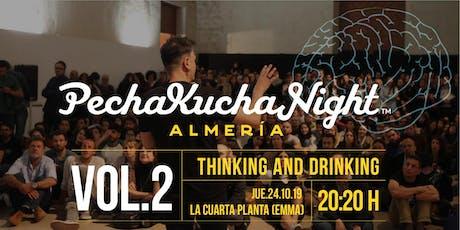 Pechakucha Night Almería VOL.2 entradas