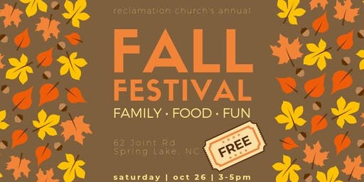 Reclamation Church - Annual Fall Festival