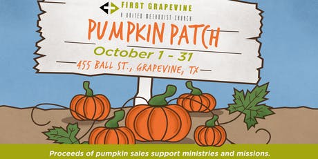 First Grapevine Pumpkin Patch tickets