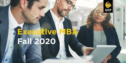 Executive MBA Info Session 10/24/19