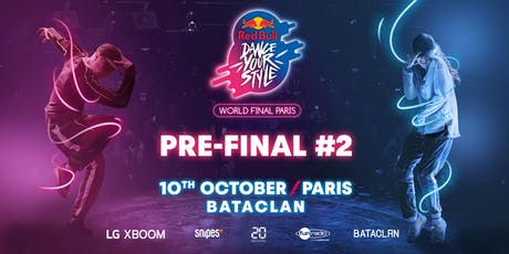 Red Bull Dance Your Style World Final - Pre Final #2 tickets