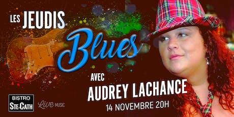 Les jeudis Blues avec Audrey Lachance tickets
