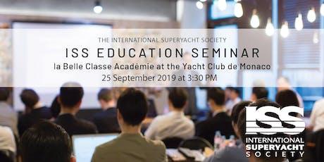ISS Education Seminar in Monaco tickets