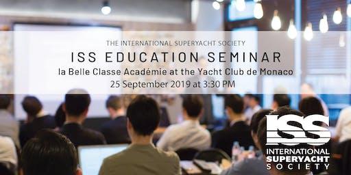 ISS Education Seminar in Monaco