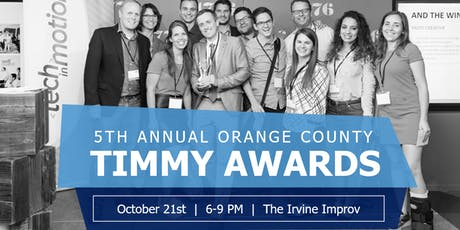 Orange County's 5th Annual Timmy Awards tickets