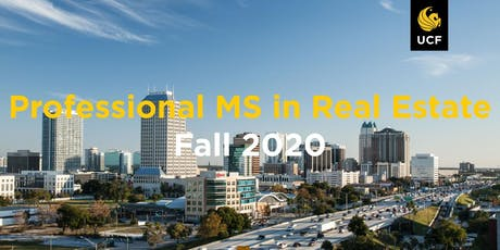 Professional MS in Real Estate 10/09/2019 tickets