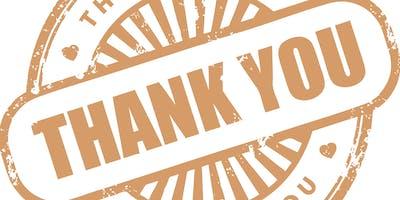 BRAWS Supporter Appreciation Event