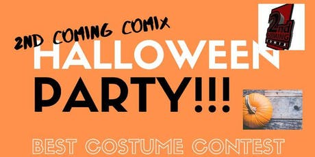 2nd Coming Comix Halloween Party 2019 tickets
