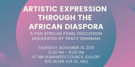 Artistic Expression Through the African Diaspora Panel Discussion