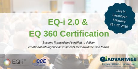 Emotional Intelligence Certification - EQ-i2.0 & EQ360 tickets