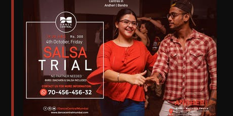 Andheri - Salsa Basic Trial/Demo by Dance Central tickets