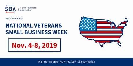 San Francisco District Office's National Veteran's Small Business Week tickets