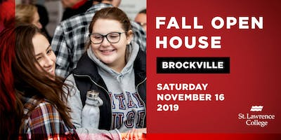 Fall Open House Brockville Campus 2019