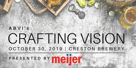 ABVI's CRAFTING VISION 2019 tickets