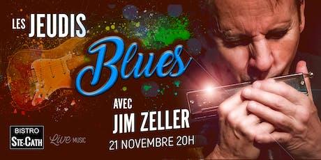 Les jeudis Blues avec Jim Zeller tickets