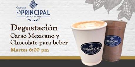 Degustación de Cacao mexicano y Chocolate para beber tickets