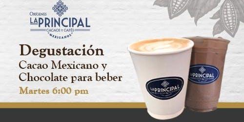 Degustación de Cacao mexicano y Chocolate para beber