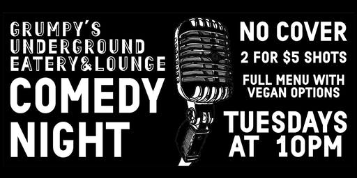 Open Mic Comedy Night!