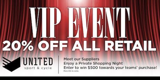 Team & Corporate Sales - VIP Event Night