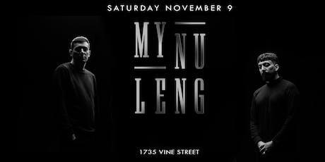 Avalon Presents: My Nu Leng tickets
