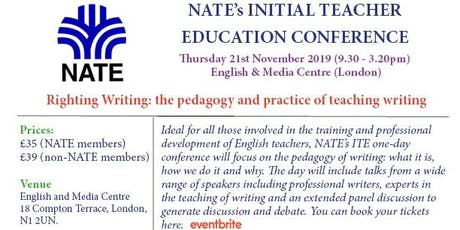 NATE Initial Teacher Education Conference tickets
