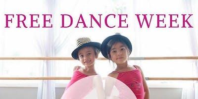Stellar Dance, Kids Free Week, Intro to Dance Class, Ages 2.5-4.5