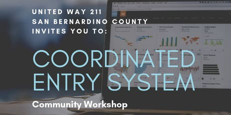 Coordinated Entry System Community Workshop tickets